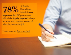 """..And 96% think it is either """"somewhat"""" or """"very"""" important to have this duty to document. Find more images below."""
