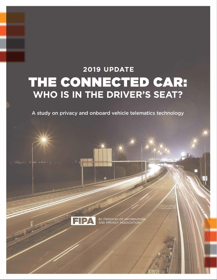 Cover of the Connected Car update for 2019